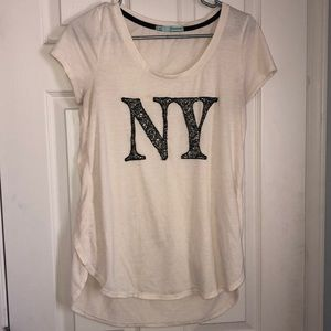 NY Off white Maurices shirt